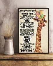 Giraffe - Today Is A Good Day 11x17 Poster lifestyle-poster-3