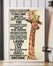 Giraffe - Today Is A Good Day 11x17 Poster lifestyle-poster-4