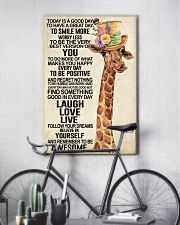 Giraffe - Today Is A Good Day 11x17 Poster lifestyle-poster-7