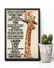 Giraffe - Today Is A Good Day 11x17 Poster lifestyle-poster-8