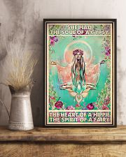 Hippie Girl She Had The Soul Of A Gypsy 11x17 Poster lifestyle-poster-3