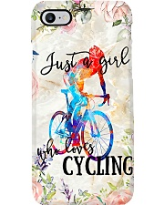 Girl Loves Cycling Phone Case i-phone-7-case