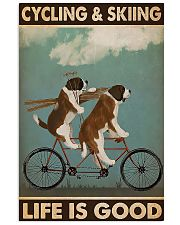 Cycling And Skiing 11x17 Poster front