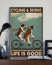 Cycling And Skiing 11x17 Poster lifestyle-poster-2