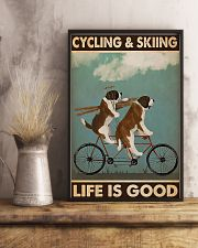 Cycling And Skiing 11x17 Poster lifestyle-poster-3