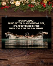 Swimmers Being Better Than You Were The Day Before 17x11 Poster aos-poster-landscape-17x11-lifestyle-27