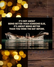 Swimmers Being Better Than You Were The Day Before 17x11 Poster aos-poster-landscape-17x11-lifestyle-29
