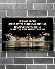 Swimmers Being Better Than You Were The Day Before 17x11 Poster poster-landscape-17x11-lifestyle-18