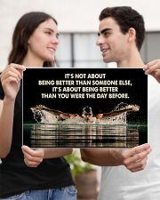 Swimmers Being Better Than You Were The Day Before 17x11 Poster poster-landscape-17x11-lifestyle-20