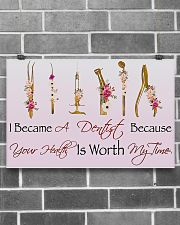 I Became A Dentist  17x11 Poster poster-landscape-17x11-lifestyle-18