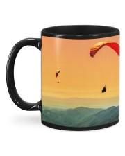 Skydiving Mountain Mug back