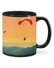 Skydiving Mountain Mug front
