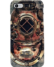 Scuba Diving - Antique Diving Helmet Phone Case i-phone-7-case