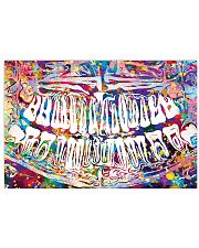 Dentist Colorful X-ray Image 17x11 Poster front