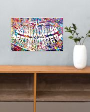 Dentist Colorful X-ray Image 17x11 Poster poster-landscape-17x11-lifestyle-24
