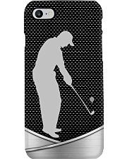 Golf Siliver Image Phone Case i-phone-8-case