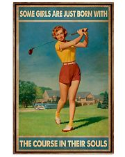 Some Girls Golf 11x17 Poster front