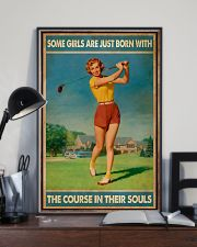 Some Girls Golf 11x17 Poster lifestyle-poster-2