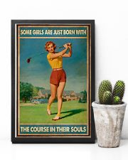 Some Girls Golf 11x17 Poster lifestyle-poster-8