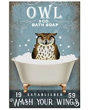 Owl - Wash Your Wings 11x17 Poster front