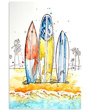Surfing Art 11x17 Poster front