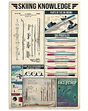 Skiing Vintage Knowledge 11x17 Poster front