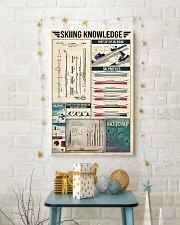 Skiing Vintage Knowledge 11x17 Poster lifestyle-holiday-poster-3