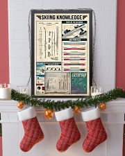 Skiing Vintage Knowledge 11x17 Poster lifestyle-holiday-poster-4