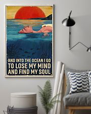 Swimming - Into The Ocean I Go To Lose My Mind 11x17 Poster lifestyle-poster-1