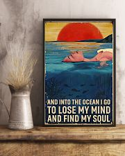Swimming - Into The Ocean I Go To Lose My Mind 11x17 Poster lifestyle-poster-3