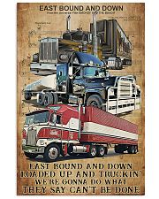 Trucker - East Bound And Down 11x17 Poster front