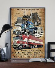 Trucker - East Bound And Down 11x17 Poster lifestyle-poster-2