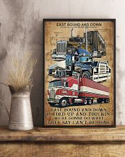 Trucker - East Bound And Down 11x17 Poster lifestyle-poster-3