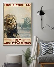 Pilot I Fly And I Know Things 11x17 Poster lifestyle-poster-1