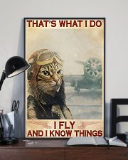 Pilot I Fly And I Know Things 11x17 Poster lifestyle-poster-2