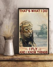 Pilot I Fly And I Know Things 11x17 Poster lifestyle-poster-3