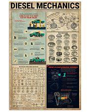 Mechanic Diesel Mechanics 11x17 Poster front