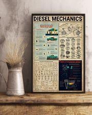 Mechanic Diesel Mechanics 11x17 Poster lifestyle-poster-3