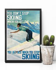 Get Old When Stop Skiing 11x17 Poster lifestyle-poster-8