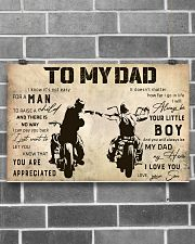 Motorcycle To My Dad 17x11 Poster poster-landscape-17x11-lifestyle-18