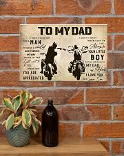 Motorcycle To My Dad 17x11 Poster poster-landscape-17x11-lifestyle-23