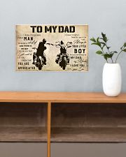 Motorcycle To My Dad 17x11 Poster poster-landscape-17x11-lifestyle-24