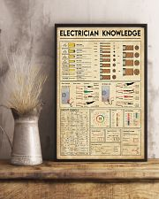 Electrician Knowledge 11x17 Poster lifestyle-poster-3