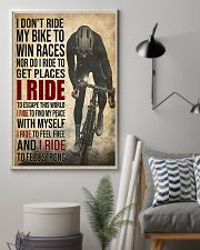 I Ride Cycling 11x17 Poster lifestyle-poster-1
