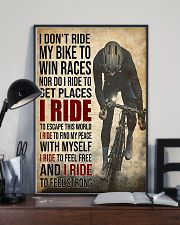 I Ride Cycling 11x17 Poster lifestyle-poster-2