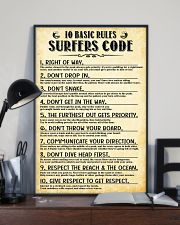 Surfing 10 Basic Rules Sufers Code  11x17 Poster lifestyle-poster-2