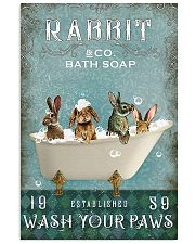 Rabbit Wash Your Paws 11x17 Poster front