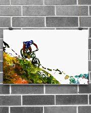 Cycling Mountain Biking 17x11 Poster poster-landscape-17x11-lifestyle-18