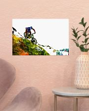 Cycling Mountain Biking 17x11 Poster poster-landscape-17x11-lifestyle-22