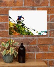 Cycling Mountain Biking 17x11 Poster poster-landscape-17x11-lifestyle-23